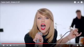 Taylor Swift - Shake It Off - 2:18 - 2:42