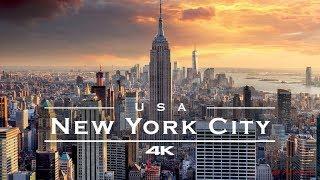 New York City (NYC), USA 🇺🇸 - by drone [4K]