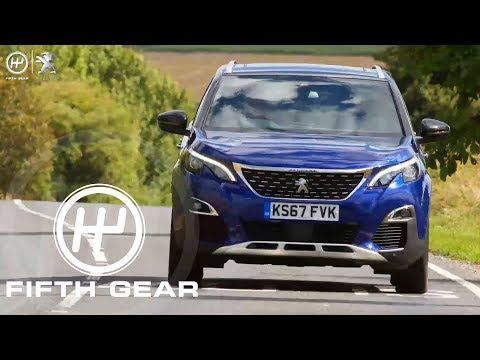 Fifth Gear AD: Peugeot 3008 SUV Safety & Tech