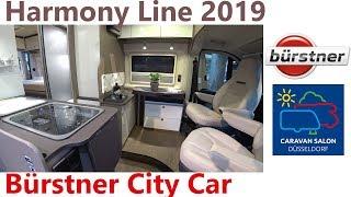 Buerstner City Car Harmony 2. Caravan Salon Düsseldorf 2018