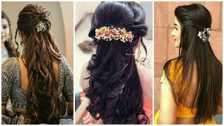 Top 30 Indian Wedding Hairstyles From Short To Long Hairs L #hairstyle