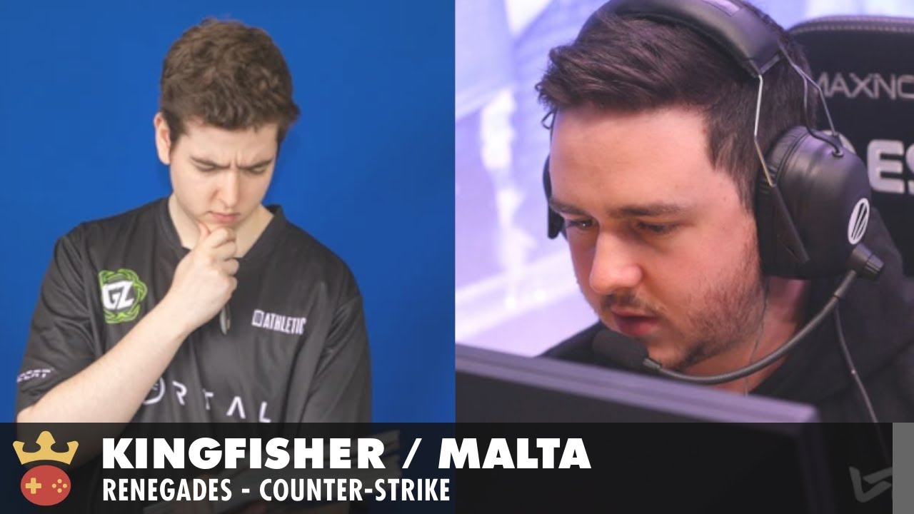 Video of Interview with malta and KingFisher from Renegades at IEM Cologne 2021
