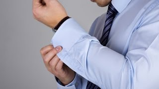 How to put on a Cufflink - THIS VIDEO MAKES IT EASY!