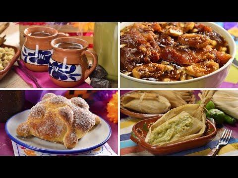 Prepara 4 Deliciosas Recetas Para Tu Altar De Muertos