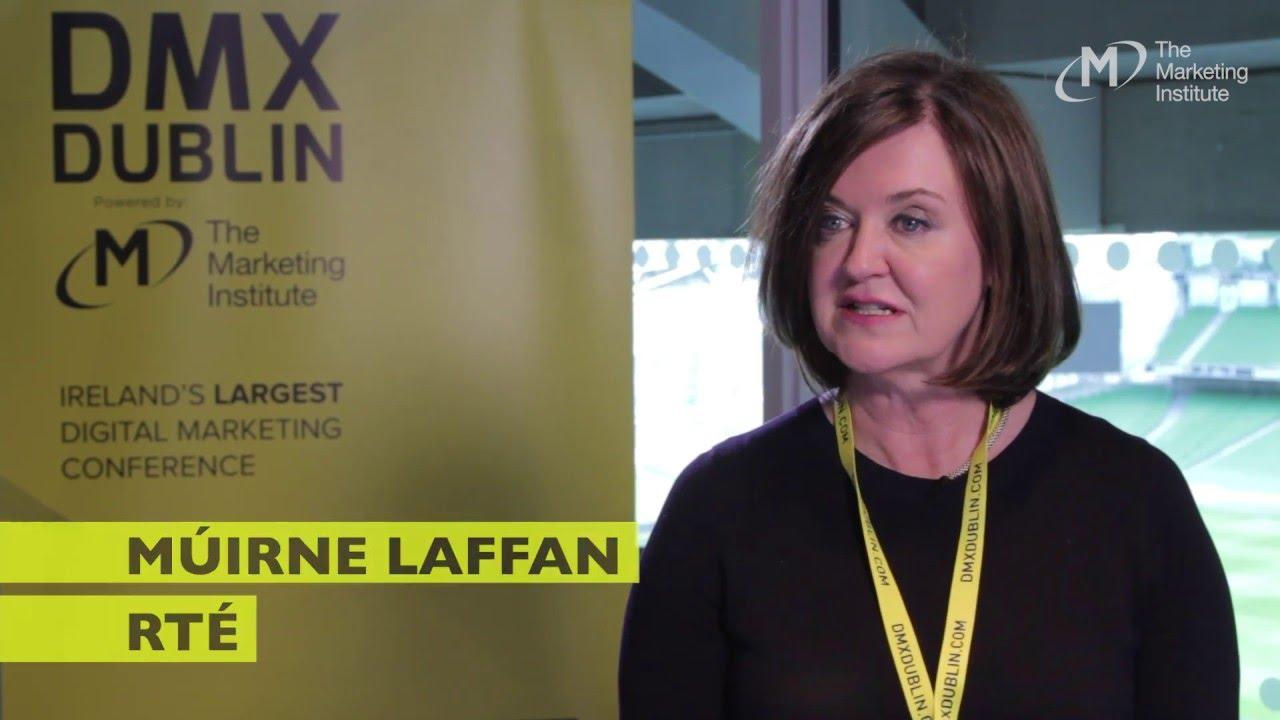 Múirne Laffan, RTÉ - Interview @ DMX Dublin 2016