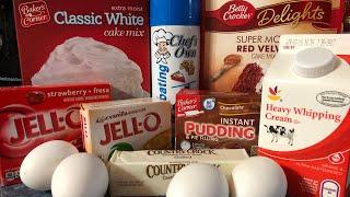 how to make box cake mix taste like homemade