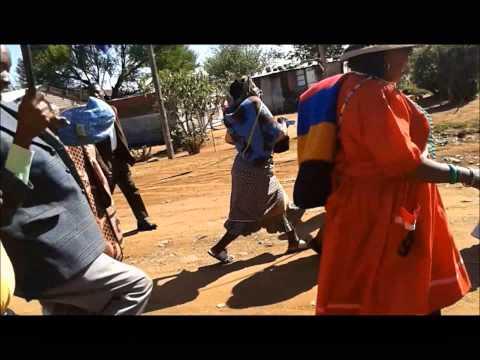 Funeral of the late Lekaota Search Mokhoaebane