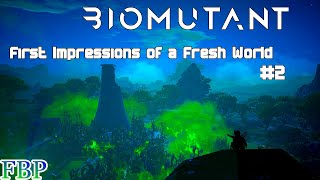 Biomutant - First Impressions and Gameplay showcase - Part 2 of 2