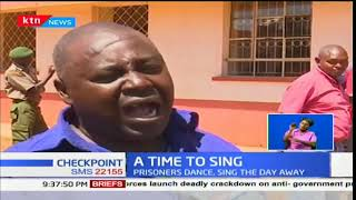 State house choir entertains prisoners at King'ong'o prison