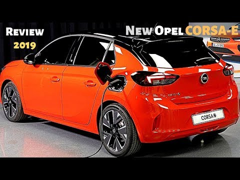 NEW Opel CORSA-E 2019 Exterior Presentation (Full Electric Car)