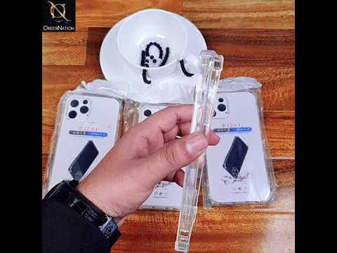 Soft 4D Design Shockproof Silicone Transparent Clear Case For Samsung Galaxy A70
