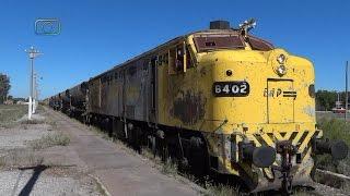 preview picture of video 'Tren de ALL con ALCo FPD7 pasando por La Paz'
