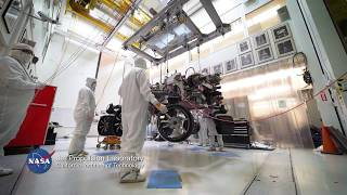 NASA's 2020 Rover Moves into Mars Simulation Chamber (time lapse) by Jet Propulsion Laboratory