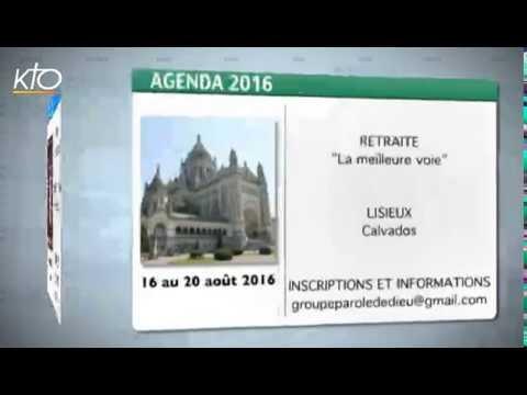 Agenda du 5 août 2016