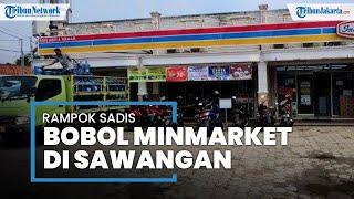 Tiga Pria Rampok Minimarket di Sawangan, Ancam Pegawai dengan Senjata Tajam