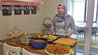 Traditional Turkish Dinner Menu   7 Recipes And Planning Guide