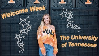 Welcome Week | Julia Sachs University of Tennessee