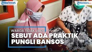 Wajah Ketakutan, Diduga Korban Pungli Bansos di Tangerang Mendadak Cabut Omongannya: Saya Grogi