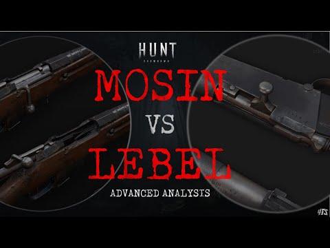 Hunt Showdown Mosin vs Lebel Advanced Weapon Guide