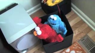 FUNNY! Elmo and Cookie Monster have some Adult Fun
