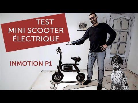 Test du mini scooter électrique InMotion P1