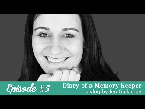 Episode #5 Diary of a Memory Keeper with Jen Gallacher