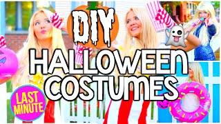 DIY Last Minute Easy & Cheap Halloween Costume Ideas For Teens!