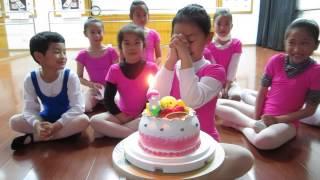 千禧藝術團20140228 佩如8歲生日