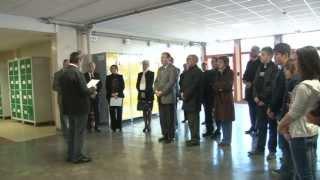Le collège Carignan-Margut accessible aux personnes à mobilité réduite