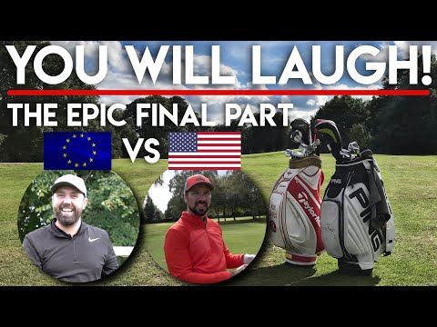 YOU WILL LAUGH! Texas Pete vs Seve Shiels - Golfbidder Second Hand Challenge - FINAL PART