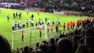SM Caen 1 - Nîmes 1 : Malherbe Monte En Ligue 1 Le 13/05/2014 - L'après Match En Vidéo HD