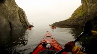 Kayaking in Ireland - Go Pro