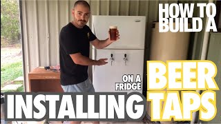 How To Install Beer Taps On A Fridge With Hoocho.
