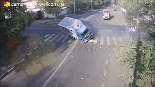 Ужасные аварии с камер видерегистраторов 2017