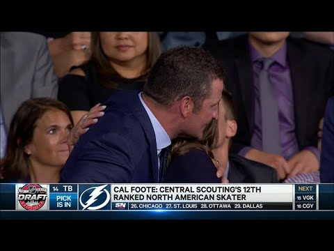 Yzerman drafts Foote with 14th pick