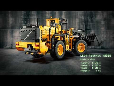 Vidéo LEGO Technic 42030 : La chargeuse sur pneus télécommandée VOLVO L350F