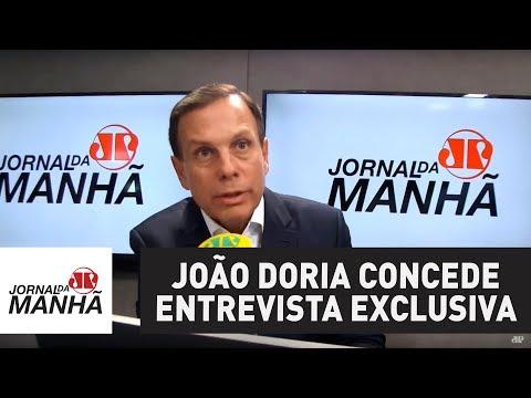 Confira a entrevista completa com o pré-candidato do PSDB ao governo de São Paulo, João Doria:
