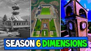Fortnite: SEASON 6 DIMENSION THEORY (3 NEW FORTNITE MAPS?)   Season 6 Leaks And Insane Theories