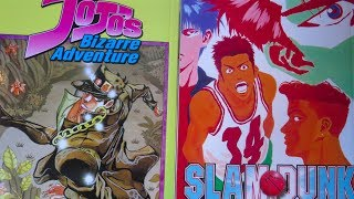 CHANNEL UPDATE & Viz OOP Manga Reprints - JoJo's Bizarre Adventure & Slam Dunk