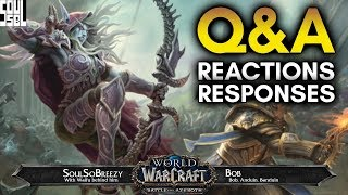 October 11 Battle for Azeroth Developer Q&A Recap with Reactions! - World of Warcraft