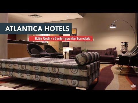 Se hospede em um Quality ou Comfort, da Atlantica Hotels