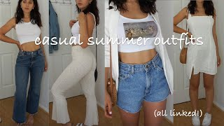 CASUAL SUMMER OUTFITS | Summer 2020 Lookbook (all Pieces Linked!!)