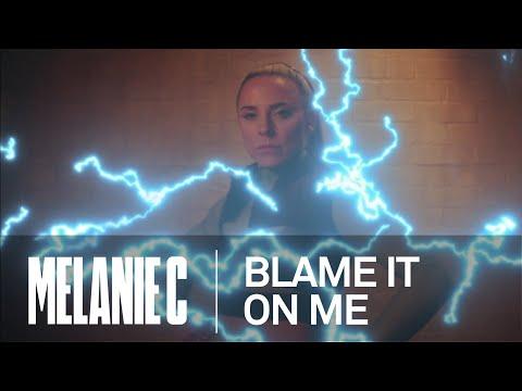 Melanie C dejo caer las imagenes para Blame It On Me