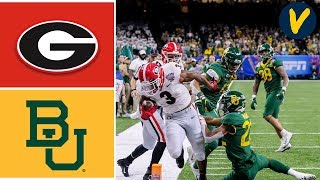 #5 Georgia Vs #7 Baylor Highlights   2020 Sugar Bowl Highlights   College Football