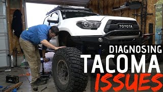 My Tacoma's Throwing Codes!   Autel Daig Link Test   Cv Boot Repair
