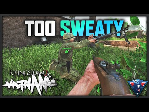 I'M TOO SWEATY | Rising Storm 2: Vietnam Gameplay