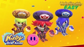 UNBELIEVABLY EASY way to beat Soul Melter EX with 3 Three Mage-Sisters | Kirby Star Allies ᴴᴰ (2018)