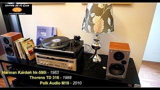 Harman Kardon - Polk Audio - Thorens  System 3