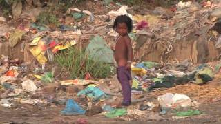 preview picture of video 'Real Slums of India: What are you complaining about today?'