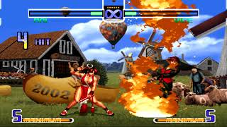 King of Fighters 2002 All Desperation Moves